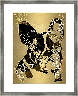 French Bulldog Collection Framed Print by Marvin Blaine