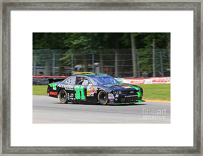 Chevy Racing Framed Print