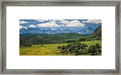 #2918 - Sneffles Range, Colorado Framed Print