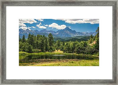#2933 - Sneffles Range, Colorado Framed Print