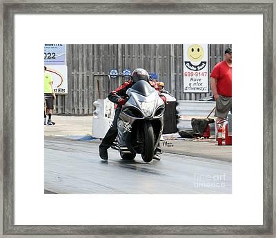 2942 05-03-2015 Esta Safety Park Framed Print by Vicki Hopper