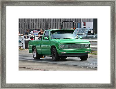 2987 05-03-2015 Esta Safety Park Framed Print by Vicki Hopper