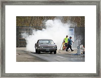 2995 05-03-2015 Esta Safety Park Framed Print