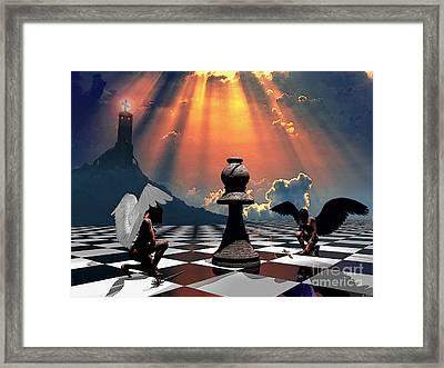 2angels Framed Print