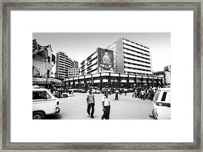 Cms, Odunlami Street Framed Print