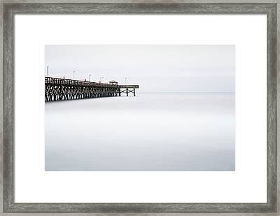 2nd Avenue Pier Sunrise Framed Print by Ivo Kerssemakers