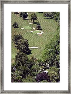 2nd Hole Philadelphia Cricket Club St Martins Golf Course Framed Print by Duncan Pearson