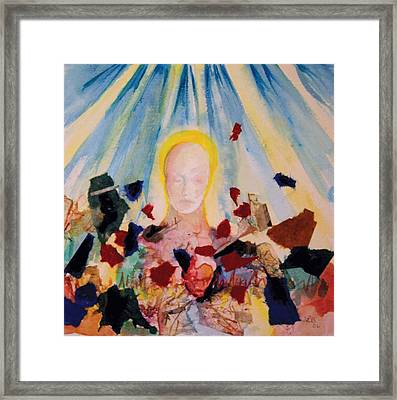 2nd Step Framed Print by Lucinda Blackstone