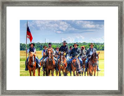 2nd Us Cavalry  Framed Print