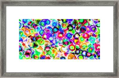 2x1 Abstract 300 Framed Print by Rolf Bertram