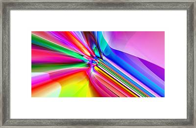 2x1 Abstract 303 Framed Print by Rolf Bertram