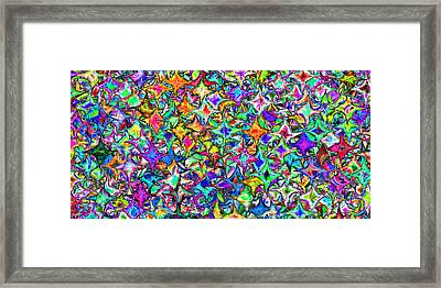 2x1 Abstract 305 Framed Print by Rolf Bertram