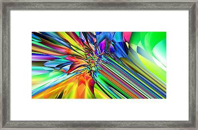 2x1 Abstract 308 Framed Print by Rolf Bertram