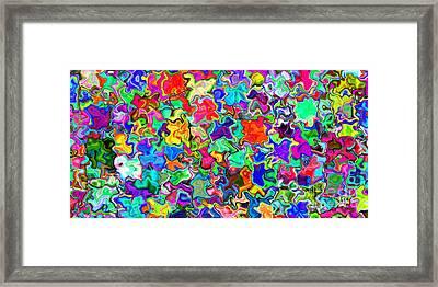 2x1 Abstract 310 Framed Print by Rolf Bertram