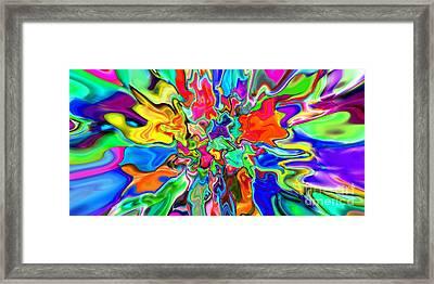 2x1 Abstract 311 Framed Print by Rolf Bertram
