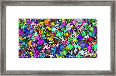 2x1 Abstract 314 Framed Print by Rolf Bertram