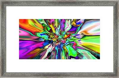 2x1 Abstract 315 Framed Print by Rolf Bertram