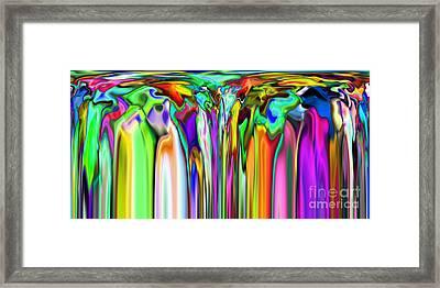2x1 Abstract 316 Framed Print by Rolf Bertram