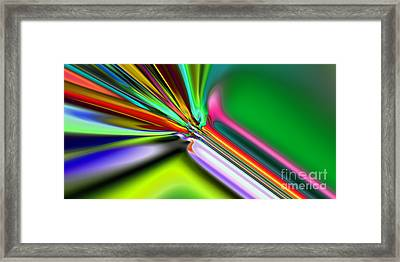 2x1 Abstract 325 Framed Print by Rolf Bertram