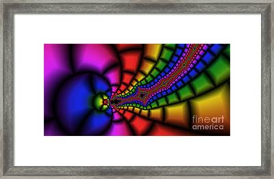 2x1 Abstract 328 Framed Print by Rolf Bertram