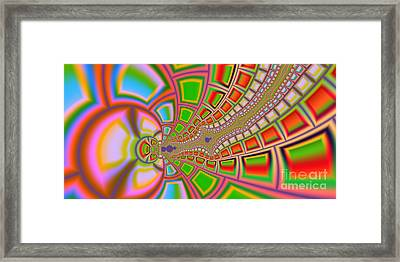 2x1 Abstract 329 Framed Print by Rolf Bertram
