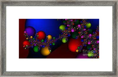 2x1 Abstract 330 Framed Print