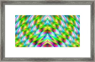 2x1 Abstract 341 Framed Print by Rolf Bertram