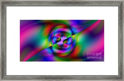 2x1 Abstract 344 Framed Print by Rolf Bertram