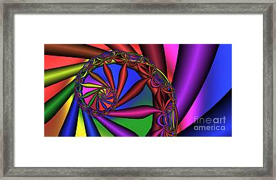 2x1 Abstract 352 Framed Print by Rolf Bertram