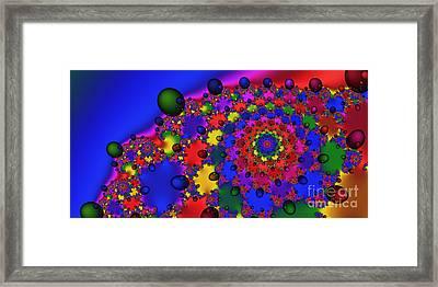 2x1 Abstract 353 Framed Print by Rolf Bertram