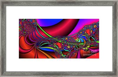 2x1 Abstract 360 Framed Print by Rolf Bertram