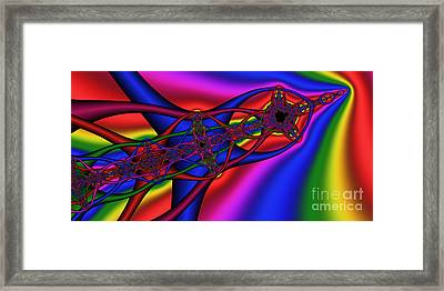 2x1 Abstract 361 Framed Print by Rolf Bertram