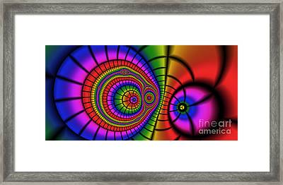2x1 Abstract 362 Framed Print by Rolf Bertram