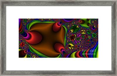 2x1 Abstract 363 Framed Print by Rolf Bertram