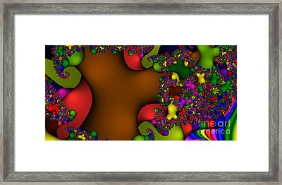 2x1 Abstract 364 Framed Print by Rolf Bertram