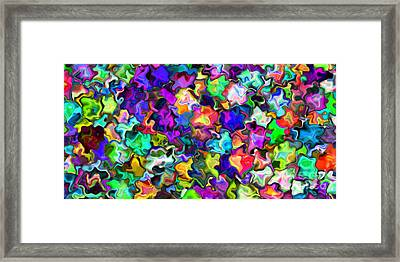 2x1 Abstract 366 Framed Print by Rolf Bertram