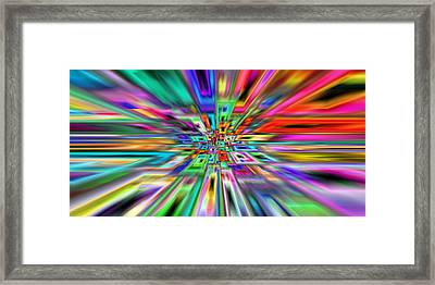 2x1 Abstract 403 Framed Print by Rolf Bertram