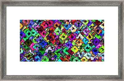 2x1 Abstract 405 Framed Print by Rolf Bertram