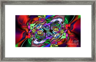 2x1 Abstract 407 Framed Print by Rolf Bertram