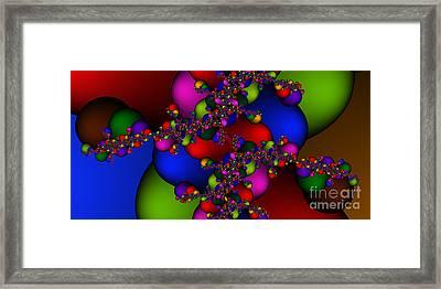 2x1 Abstract 408 Framed Print by Rolf Bertram
