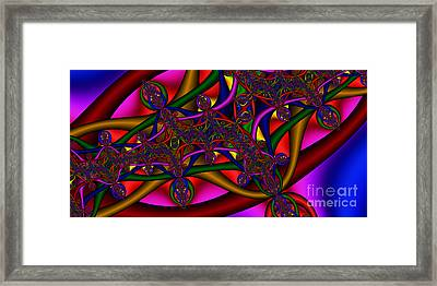2x1 Abstract 411 Framed Print by Rolf Bertram
