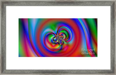 2x1 Abstract 419 Framed Print by Rolf Bertram