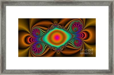 2x1 Abstract 423 Framed Print by Rolf Bertram