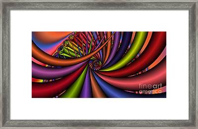2x1 Abstract 430 Framed Print by Rolf Bertram