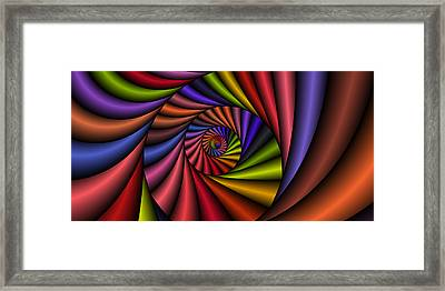 2x1 Abstract 431 Framed Print by Rolf Bertram