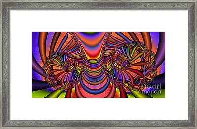 2x1 Abstract 436 Framed Print by Rolf Bertram