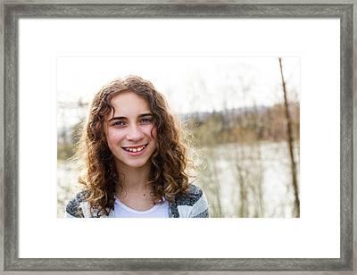 1 Framed Print by Rebecca Cozart