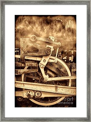 3 10 To Nowhere  Framed Print by American West Legend By Olivier Le Queinec