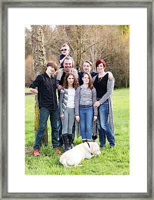 12 Framed Print by Rebecca Cozart