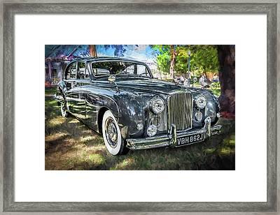 1961 Jaguar Mark Ix Saloon  Framed Print by Rich Franco